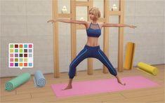Veranka: Yoga Mats • Sims 4 Downloads