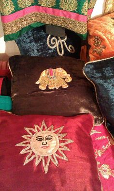 Cushions...a touch of regal luxury to any part of your House.....