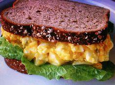 Yum... I'd Pinch That! | EGG SALAD old fashioned SANDWICH by Freda