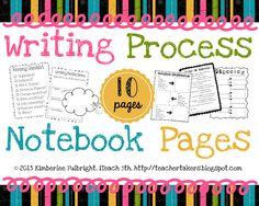 iTeach 5th: Writing Process Sheets