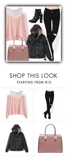 """9/17 romwe"" by fatimka-becirovic ❤ liked on Polyvore featuring Handle"