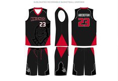 Basketball Uniform Sets 11 of Jerseys /& Shorts Custom Made To Order Style