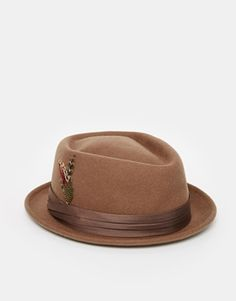 Brixton Stout Pork Pie Hat at asos.com 160cef4128d5