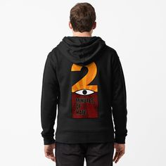 Two minutes of hate, 2 George Orwell, totalitarianism, ingsoc, propaganda, retro design from 1984 book. Cool hoodie, distressed and professional. George Orwell, Retro Design, Zip Hoodie, Chiffon Tops, Hate, Brother, Classic T Shirts, Hoodies, Lifestyle