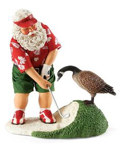 Loving this Day on the Beach Santa Figurine on #zulily! #zulilyfinds