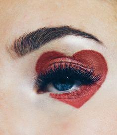 Valentinstag-Make-up-Look Shaping Pump Eyes # Valentinstag … - Schönheit Makeup Inspo, Makeup Inspiration, Makeup Tips, Beauty Makeup, Eye Makeup, Makeup Ideas, 1980 Makeup, Makeup Brushes, Makeup Meme