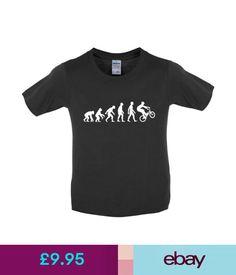 Boys' Clothing (2-16 Years) Evolution Of Man Bmx Kids / Childrens T-Shirt / Jersey - 8 Colours Xs-Xl #ebay #Fashion