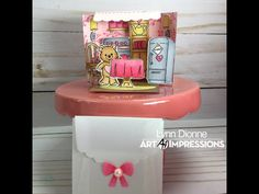 Art Impressions Matchbook 3D Pop-up Kitchen Scene w/ Envelope – Pink Whisper Designs