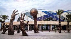 Efficient Signal Transport at Lusail Sports Arena with #RIEDEL. #MediorNet #RockNet #TechnoQ #LusailSportsArena #Qatar