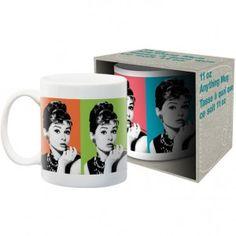 Audrey Hepburn Colors Coffee Mug