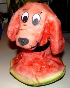 Watermelon Clifford the Big Red Dog!