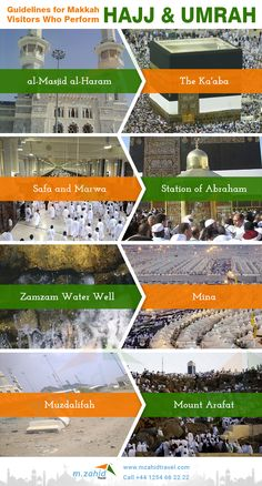 Guidelines for Makkah Visitors Who Perform Hajj & Umrah #Performhajjumrah #hajj2018 #umrah2017 #hajjumrahguide