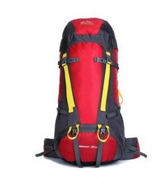70L hiking outdoor backpack hiking tour for men and women shoulder nylon backpack -- Remarkable product available now. : Backpacking gear