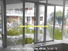 Nice villa for rent on Tran Nao included garden and nice pool Cool Pools, Villa, Windows, Nice, Garden, Houses, Garten, Lawn And Garden, Fork