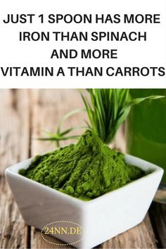 This Powder has More Antioxidants Than Blueberries, Iron Than Spinach and Vitamin A Than Carrots