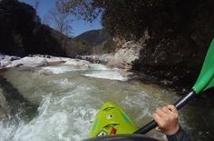 Teva kayaker, Anne Huebner took a break from her home high in the snowy Alps to paddle the stunning rivers of Corsica.
