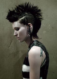 Rooney Mara | W Magazine 2011-i came so close to cutting and dying my hair like this THE NEXT DAY! saw it christmas day with my best friends/lg