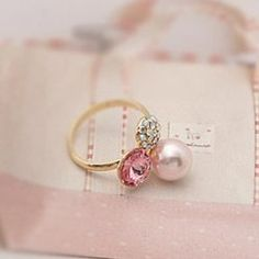 Fashion Pearl Rings | Vipmoderato