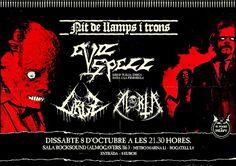 Long Live The Loud 666: SATURDAY 8 OCTOBER 20016: NIT DE LLAMPS I TRONS WI...