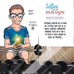 Selfie #1.- Momento Incomodo. #gimnasio #fitness #crossfit #deporte #pesas #entrenamiento #motivacion #abdominales #entrenar #gymselfies #adictosalgym #fitnessmotivation #fitnessgirl #fitnessboy #ilustracion #comic #manga #originalart #instaday #instamoment #selfie #picoftheday #fun #instadaily