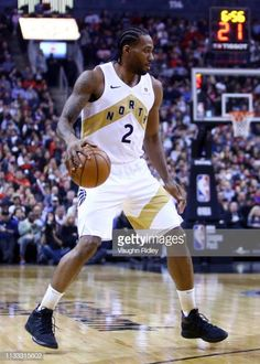 Kawhi Leonard of the Toronto Raptors dribbles the ball during the first half of an NBA game against the Portland Trail Blazers at Scotiabank Arena on. Basketball Leagues, Football And Basketball, College Basketball, Basketball Players, Nba League, Black Men Hairstyles, Portland Trailblazers, Basketball Pictures, Sports Images