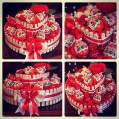 kinder cake - birthday cake idea