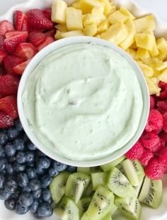 Pistachio yogurt fruit dip is the perfect summer treat for a hot day. Use up all the fresh summer fruits and make this easy 3 ingredient fruit dip. It's light, fluffy, creamy, and has added protein from the yogurt and a light pistachio flavor. Healthy Cat Treats, Healthy Meals For Two, Healthy Snacks For Kids, Instant Pudding, Cool Whip, Easy Fruit Dip, Fruit Dips, Fruit Salads, Pistachio Pudding