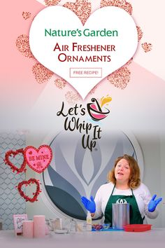Air Freshener Ornaments Recipe by Natures Garden.