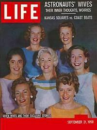 mercury seven astronauts wives