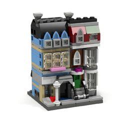 MINI MODULAR PET SHOP: A LEGO® creation by Dario Del Frate : MOCpages.com