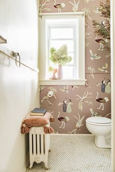ae7e44aa2ec1 Spontaneous adventure was the inspiration behind this wallpaper collection  Hand Painted Wallpaper