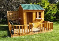 Mulberry Cottage Cubbyhouse