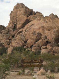 Hueco Tanks State Park in El Paso, TX