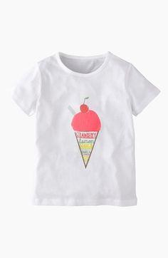 Cute! Ice cream t-shirt (Girls)