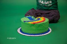 St. Patrick's Day smash cake