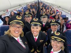 An all-women Delta crew flew 120 girls between the ages of to NASA headquarters in Houston to inspire female aviators, and to draw attention to the need to close the gender gap in aviation and promote STEM careers. Aviation Careers, Aviation Industry, Coronation Street, Kfc, Salt Lake City, Student Tours, Delta Flight, Delta Plane