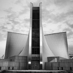 Tokyo Cathedral by kenzo tange