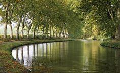 A portion of the Canal du Midi - wonderful bike trail