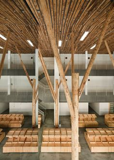 Kengo Kuma-designed 15-room hotel, and especially the attached fruit market in the town of Yusuhara