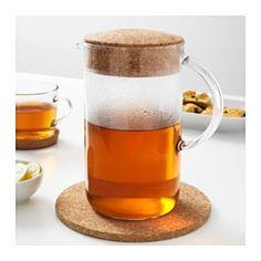 IKEA - IKEA 365+, Pichet avec couvercle, Peut être utilisé pour des boissons chaudes.