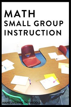 It is possible to use math small group instruction in middle school with a bit of upfront planning! Tips for implementation and ideas to get your math small groups running smoothly… More