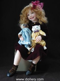 jane bradbury dolls | Jane Bradbury Collectible Dolls | Beautiful dolls | Pinterest