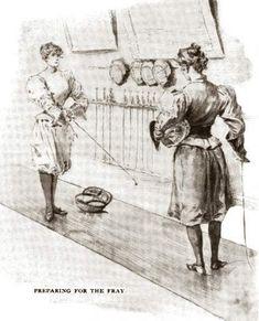 fencing illustration