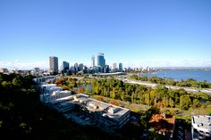 Beautiful view of the city skyline from Kings Park, Western Australia, Perth, San Francisco Skyline, Dolores Park, City, Travel, Beautiful, Viajes