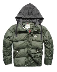 6ccbbe08d0b6 Moncler Outlet UK Milano Mens Down Jackets Army Green New York Fashion,  Runway Fashion,