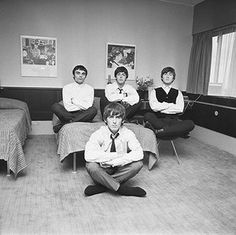 Harry Benson: The Beatles in Copenhagen, 1964