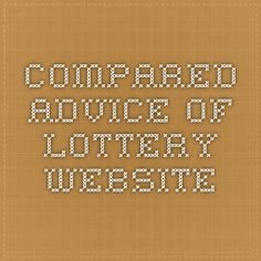 Compared - Advice Of Lottery Website