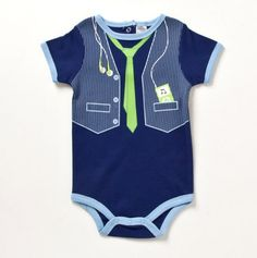 Infant My Favorite Tunes Vested Creeper - Baby Essentials Bubble Dresses & Sets - Events