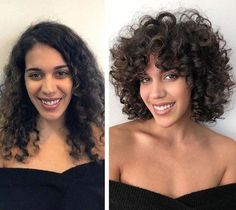 What is the Rezo Cut? The Woman Behind The Cutting Technique - Sharr Martin - - What is the Rezo Cut? The Woman Behind The Cutting Technique - Sharr Martin Curly Hair Styles, Curly Hair With Bangs, Curly Hair Tips, Long Curly Hair, Natural Hair Styles, Curly Girl, Curly Short, Curly Hair Fringe, Thin Curly Hair