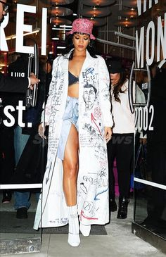 Rihanna Rules the Red Carpet - Rihanna Opening Ceremony Raf Simons-Wmag